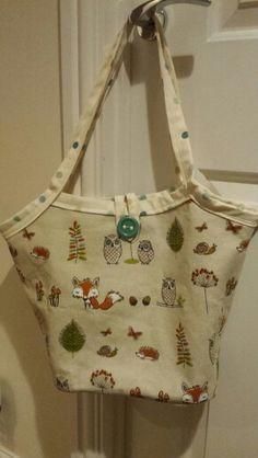 Lauras baby bag.  Oct 2014