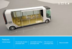 M8 is a mini bus designed especially for inner city use