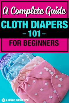 Cloth diapers 101, for beginners: the best DIY ultimate guide! Understand how to cloth diaper your girl or boy, how they compare vs disposable, the best cute pattern, washing, storage, stripping, how to use cloth diapers, cleaning, types of cloth diapers, all in one, brands, newborn cloth diapers, where to buy, AND more! All the best tutorials, tips, types and products to cloth diaper successfully. #clothdiapers #momtips #parenting #SLL