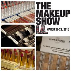 The Makeup Show is bringing more pro brands and products than ever before in this years #TMS shows starting with our much anticipated The Makeup Show LA taking place March 28-29th. See brands like the ones above and many more along with educational classes and networking opportunities!