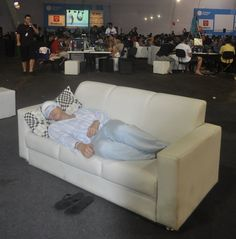 A Campus Party do pijama