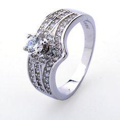 Rings For Women Wedding Romantic by BeautifulJewelryByMk on Etsy