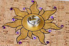Tangled inspired ring shot at Disney's Fairy Tale Weddings & Honeymoons