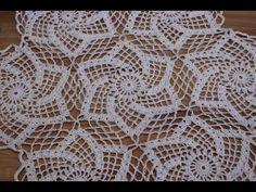 (13) Mantel Crochet Redondo Cuadrado Rectangular paso a paso - YouTube
