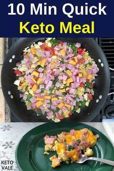 10 Min Quick Keto Meal Recipe