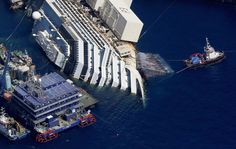 Italy's wrecked Costa Concordia cruise ship to be raised