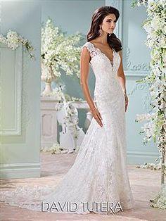 Bridal Gowns David Tutera for Mon Cheri Dayton Bridal Gown Image 1
