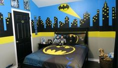 Magnificent Deco Chambre Garcon Batman that you must know, You're in good company if you're looking for Deco Chambre Garcon Batman Batman Boys Room, Batman Room Decor, Batman Bedroom, Superhero Room, Boys Bedroom Sets, Boys Bedroom Themes, Boys Bedroom Furniture, Kids Bedroom, Bedroom Ideas