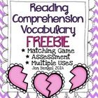 Happy Valentine's Day!  Please enjoy this free resource.  Here's what is included:  * 8 reading comprehension strategies and definitions * Suggesti...