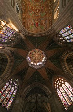 Ely Cathedral's octagonal lantern is one of the wonders of medieval architecture in England.