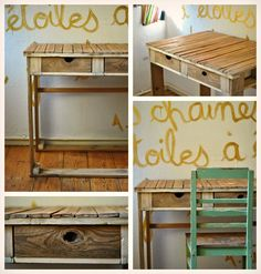 Pallet working table