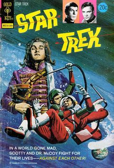 "Gold Key ""Star Trek"" comic covers..,"