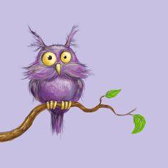'Owl' by Irkonza