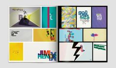 portfolio book by Michal Ondracek, via Behance