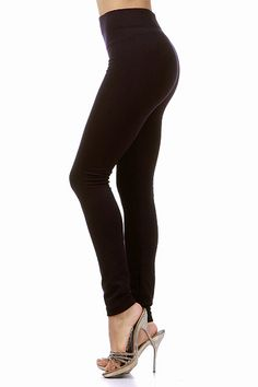 If you need the perfect comfy and warm legging for this up and coming season then these Thick Fleece Lined Leggings will make you love the cooler weather. These warm thick leggings are ideal to keep you warm when the wind blows a little cooler and the air is a little less inviting. Theses wonderful leggings come in four fabulous colors, black, purple, brown and navy. Pick one or pick them all to mix and match with new tops for the season. If falling in love with leggings is possible then ...