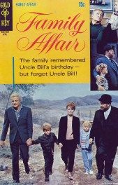 Gold Key Family Affair comic book #2