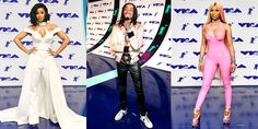 See The Best Dressed At The 2017 VMA's