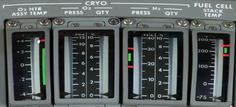 cryo and fuel cell stack temp monitors