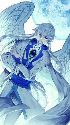 Yue (Yukito) from Cardcaptor Sakura. Cardcaptor Sakura, Yue Sakura, Syaoran, Anime Angel, Ange Anime, Anime Art, Girls Anime, Hot Anime Boy, Clamp Manga