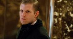 Eric Trump in Trump Tower in December. - Evan Vucci/AP