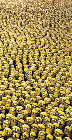 Whenever you think you are alone, you aren't. The minions love you =) @Kate F. Metzger this is for you!