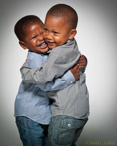Brothers hug it out!