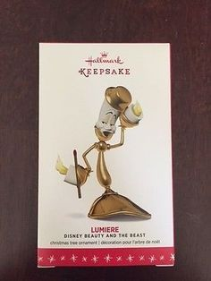 2016 Hallmark Keepsake Ornament LUMIERE Disney Beauty and The Beast Limited in Collectibles, Decorative Collectibles, Decorative Collectible Brands | eBay