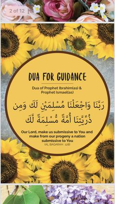 Duaa Supplications of the Prophets and Messengers of Allah