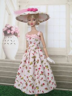 Strap Bodice Dress For Silkstone, Victoire Roux Doll, Poppy Parker By kunchris