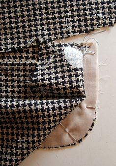 "35 Pockets. | "" Stitch pocket pieces together along side and… 