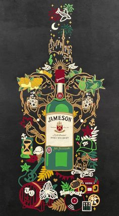 Hand-painted custom mural wall art for Jameson Irish Whiskey in Toronto. Jazz Lounge, Jameson Irish Whiskey, Artwork For Home, Neon Wallpaper, Art Competitions, Mural Ideas, Mural Wall Art, Secret Santa, Apothecary