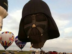 Sixty different hot-air balloons from around the world are at the Kansas Speedway this weekend. Big Balloons, Hot Air Balloon, Kansas, Star Wars, America, Large Balloons, Hot Air Balloons, Starwars, Air Balloon