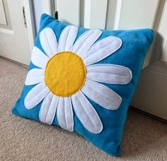 Looking for handmade gifts? We have a beautiful collection of unique gifts made by talented UK designers and crafts people. Sewing Pillows, Diy Pillows, Decorative Pillows, Throw Pillows, Sewing Crafts, Sewing Projects, Felt Cushion, Fleece Projects, Cushion Cover Designs