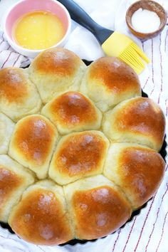 30 Minute Dinner Rolls | These foolproof dinner rolls are so easy to make you'll never go store-bought again!