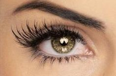 Thicker and longer eyelashes
