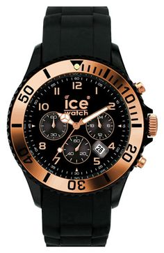 ICE Watch Chronograph Silicone Strap Watch available at #Nordstrom
