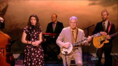 Steve Martin and Edie Brickell Perform