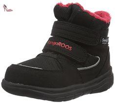 KangaROOS Power Court Ps, Sneakers basses mixte enfant, Gris - Grau (Dk Grey /flame red 266), 30 EU - Chaussures kangaroos (*Partner-Link) | Pinterest