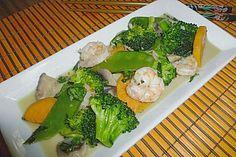 Thaicurry mit Garnelen und Süßkartoffeln (Rezept mit Bild)   Chefkoch.de