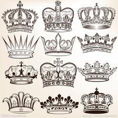 皇冠矢量图__边框相框_底纹边框_矢量图库_昵图网nipic ...