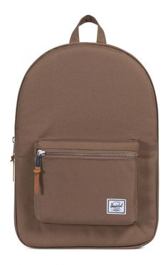 There's a new brown in town; presenting, the Herschel Settlement Backpack Poly Cub. The sandy hue of this classic Herschel cut pairs well with nearly any colour or outfit and features an internal laptop pouch for electronic storage. Herschel Rucksack, Laptop Pouch, Herschel Supply Co, Jeans Material, Pairs, Backpacks, Design, Bags, Patterns