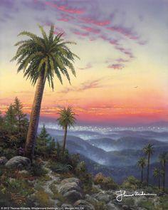 Desert Sunset by Thomas Kinkade