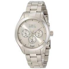 Invicta Angel 12465 http://invictamexico.com/mujer/invicta-mujer-12465-angel-reloj-acero-inoxidable-plata.html