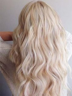 U Tip Ombre Pre Bonded Keratin Fusion Remy Human Hair Extensions Honey Blonde Fading to White Blonde #14/60