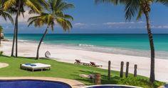 CASA ARAMARA | Punta Mita Private Estate | Official Site Coastal Color Palettes, Coastal Colors, Coastal Style, Coastal Living, Beautiful Beach Houses, Beautiful Beaches, Punta Mita Mexico, Beach House Pictures, Beach House Kitchens