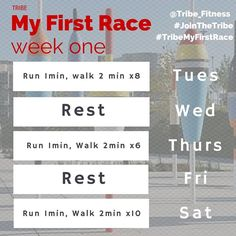"""Yesterday launched our third #TribeMyFirstRace couch to 10km run clinic. We had a great time and the fun is just getting started. Here are the remaining workouts (your """"Runwork"""") for week one. Be sure to let us know how they go!  Can't make it in person? No worries! Follow along as part of our #VirtualTribe. Know someone who wants to start running? Tag them below! New weekly training workouts posted every Monday by tribe_fitness"""