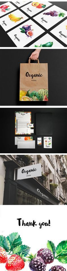 Organic Food Branding on Behance | Fivestar Branding – Design and Branding Agency & Inspiration Gallery
