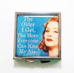 Funny pill box Funny pill case Pill Case Pill Box by KellysMagnets, $13.00