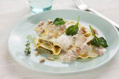 Ravioli salsa di noce, spinaci e pinoli #Star #ravioli #salsadinoce #spinaci #pinoli #ricette #food #recipes
