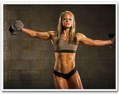 Nicole Wilkins - My fitness idol/role model/motivation